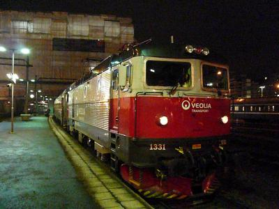 寝台列車でストックホルムから世界最北の鉄道駅ナルヴィークへ その1