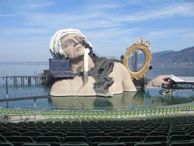 ブレゲンツの湖上オペラ ~アンドレア・シェニエ~