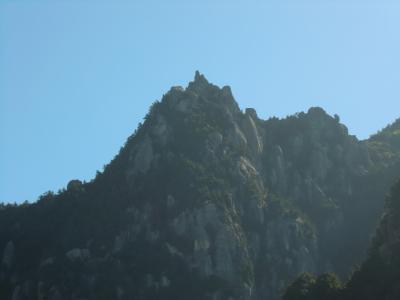 瑞牆山登山