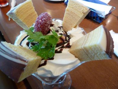 10.9月なのに、まだまだ暑い! 北海道で涼みたーい!! <DCTgarden IKEDA 、柳月トスカチーナ(カフェレストラン)、十勝ヒルズ篇>