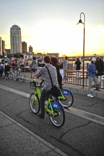 ミネアポリスは自転車の街