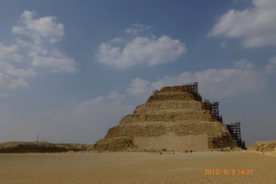 憧れのエジプト(4) ~サッカラ 階段ピラミッド~