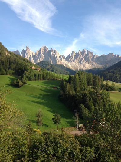 オーストリアの旅②ちょっとイタリアへ。どうしても行きたかったサンタマッダレーナ村とボルツァーノでアイスマンを見て感動