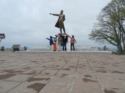 きーちゃんとの再会@「廻転ずし・とっぴ~」「羊ヶ丘展望台」「六花亭」◆2012年5月は北海道へ花見に行こう!【その9】