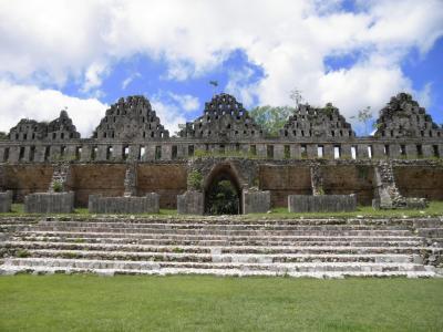 2012年マヤ文明への旅 その4 ウシュマル