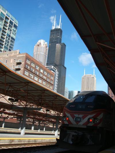 Amtrak鉄道の旅③ その1 シカゴ近郊鉄道・METRA