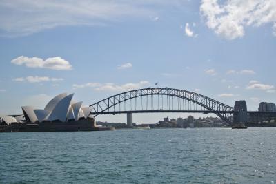 2012☆オーストラリア (6)シドニー <シドニータワー&ミセスマッコリーズポイント、オペラハウス、ハーバーブリッジ>