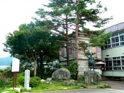 奥の細道を訪ねて第11回13芭蕉の最上川下りの上陸地・清川関所(船番所)跡