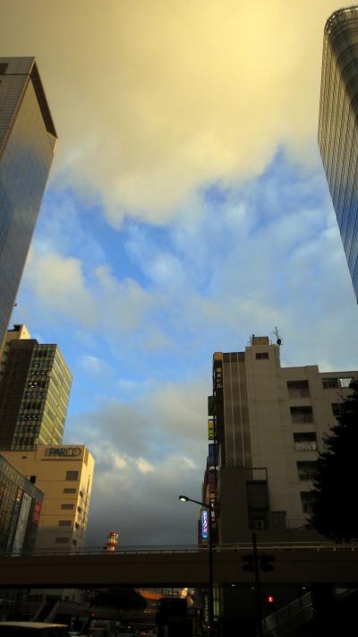 雨の甲府・柏崎、雨上がりの仙台