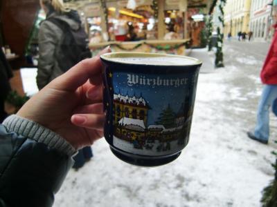 冬のヨーロッパ10(ヴュルツブルク・クリスマス市)