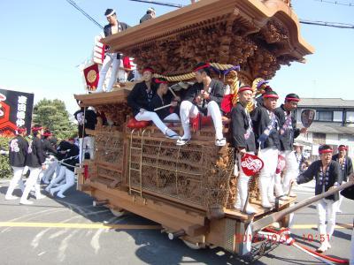 2012.大阪 貝塚 南近義地区 だんじり祭り