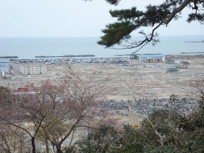2012 仙台遠征と東日本大震災の爪痕を見る【その5】石巻の街を歩く(その2)日和山とその眼下の街