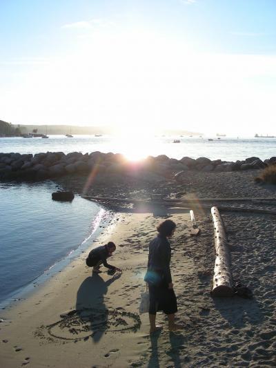 1209カナダ~バンクーバーのサンセットビーチ★とりあえず写真だけ