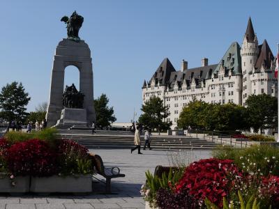 ワシントンDCとカナダ東部を巡る旅 (1)オタワ中心部をサクッと散策