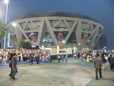 ATPChinaOpenテニス観戦 ①