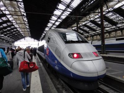 パリからリヨン 鉄道関係