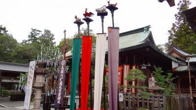 大井神社の参拝