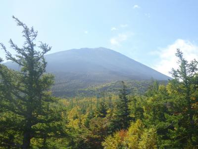 富士山・・五合目は雲の上!
