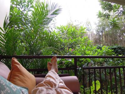 バリ島ウブド3日間の旅(2)ーiii ウブドの町をのんびり・ぶらぶら
