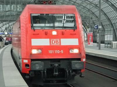 ドイツ 2012夏 陸の旅~ドイツ鉄道(DB)でベルリン中央駅→オスナブリュック駅~