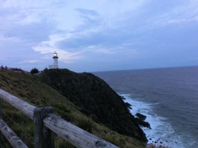 ゴールドコースト子連れ旅行⑤ポイントデンジャーと夜のバイロンベイ