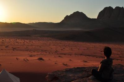 2012夏旅行第3弾・ヨルダン&トルコ -ワディ・ラムの赤い砂漠でグッタリ編-