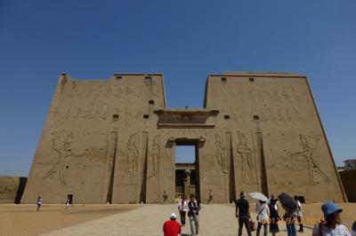 憧れのエジプト(11)~エドフ ホルス神殿 ①~