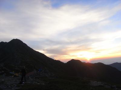 2012 北岳~間ノ岳 テント泊で縦走してみた