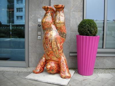 ベルリンで見つけた熊
