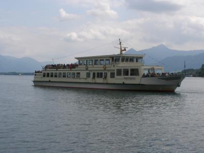 ドイツアルプスからチロル、ドロミテ、ザルツカンマーグートへ 【55】プリーンのキーム湖へ