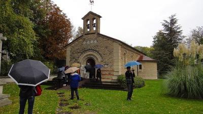 ランスの市内観光 ノートルダム寺院(世界遺産)・フジタ礼拝堂等