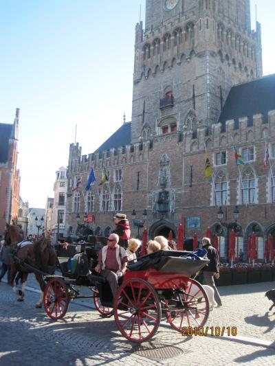 還暦過ぎのUK語学留学の合間に「短期ホリデー初2人旅・Brugge編」長年ベルギーレースを買い求めたくて