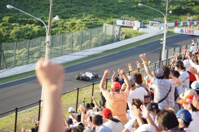 2012年 F1日本グランプリ その.3 F1決勝 可夢偉感動をありがとう!!
