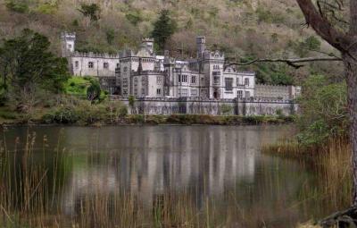 カイルモア修道院を見たい、アイルランドのコネマラ地方