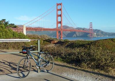 サンフランシスコ・ゴールデンゲートブリッジを自転車で