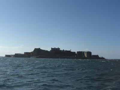 軍艦島、なんだかすごい!