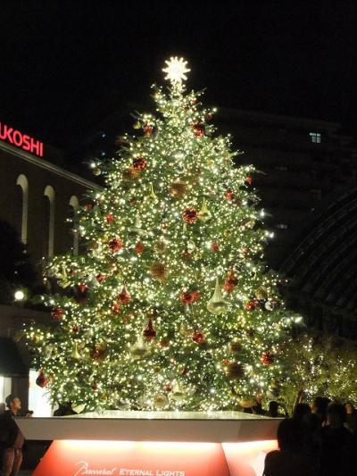 もう始まった恵比寿ガーデンプレスのクリスマスイルミネーション