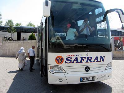 2012年6月 トルコ旅行 (7) イスタンブールへ戻る