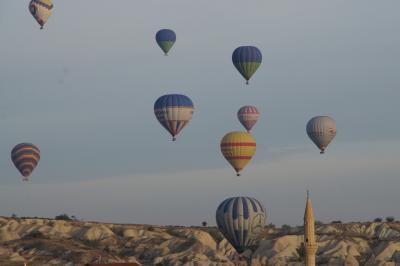 20121013 カッパドキア サイクリングでウチヒサル、オルタヒサル、三姉妹岩、ラクダ岩、パシャバーとか