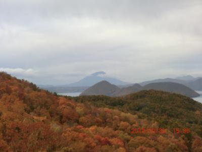 秋を迎えに :支笏湖、洞爺湖 有珠山