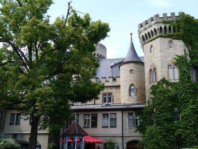 ちゃあちゃんマイニンゲンで古城に泊まり城主の気分を味わう