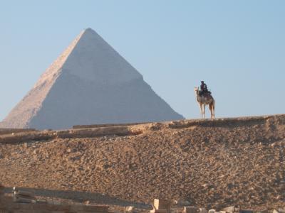 2006年1月 出張に感謝、ギザのピラミッド