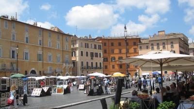 イタリア新婚旅行 9~10日目 【たった2日間じゃ足りないローマ市内観光(2)】