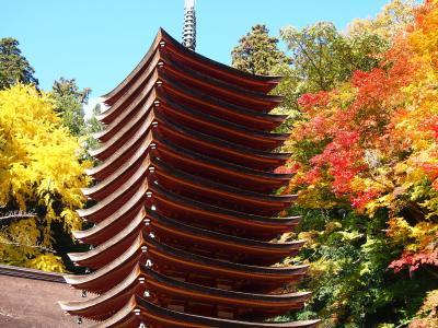 2012 今年最初の紅葉を見に談山神社&長谷寺へ行ったがね~(@_@;)