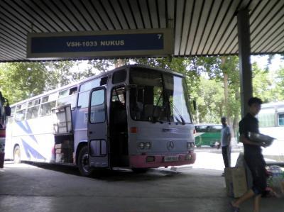 ユーラシア西へ59: タシケント⇒ヌクス行きバス 「憤怒の抗議始末記」