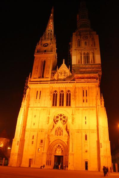 中欧ハネムーン−5カ国を巡る旅:2日目−クロアチア・ザグレブ