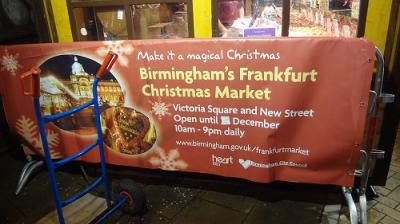 バーミンガム・フランクフルト・クリスマスマーケット2012