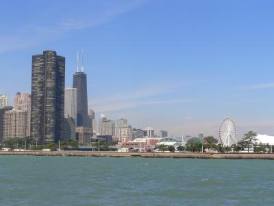 シカゴ近郊ひとり旅  (5)シカゴ観光と言えば「シカゴ川&ミシガン湖クルーズ」でしょ~!