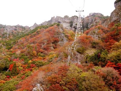 紅葉の寒霞渓と小豆島観光  2日目