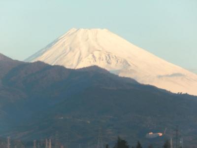 新富士~東京~新富士~静岡 2012.11.25 14時間・400KMの旅 ~①新幹線から見えた富士山~